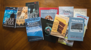 A samole of the wide variety of books from Olympic Peninsula Authors